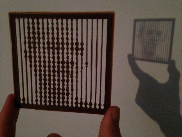 自定义拼豆 3D打印模型渲染图