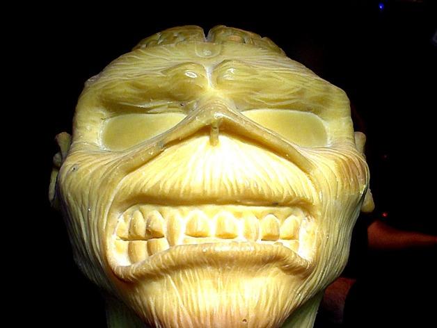 怪物Eddie 3D打印模型渲染图