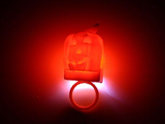 南瓜灯 3D打印模型渲染图