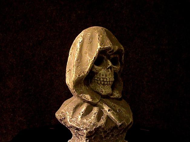 死神 3D打印模型渲染图