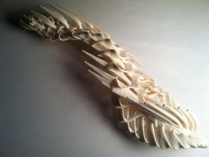 小鸟 3D打印模型渲染图