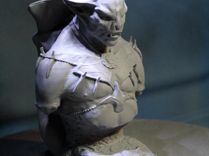 吸血鬼雕像