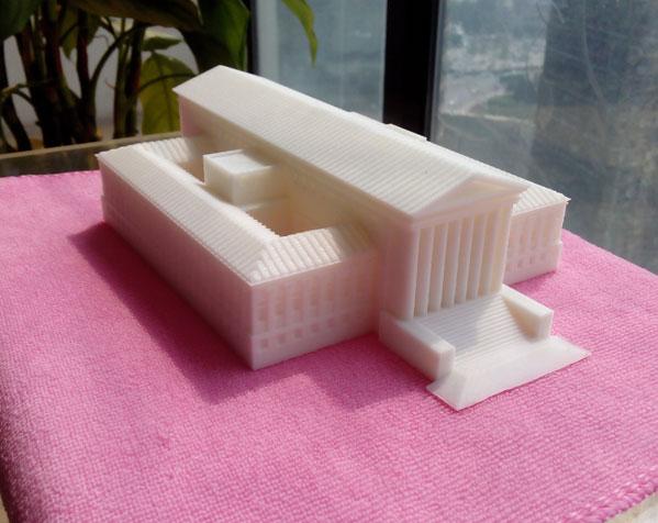 美国最高法院大厦 3D打印图片