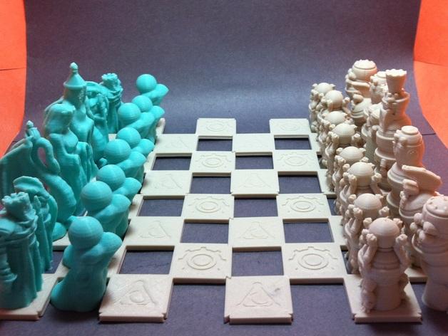 机器人与向导象棋组