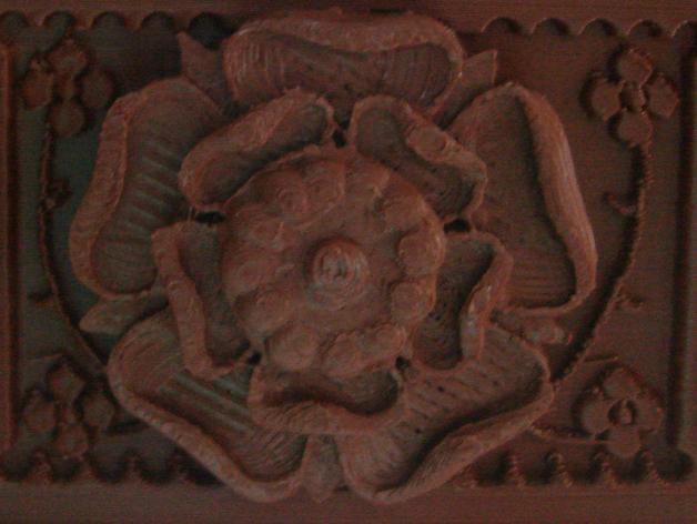 都铎王朝的玫瑰框(秘密锁)