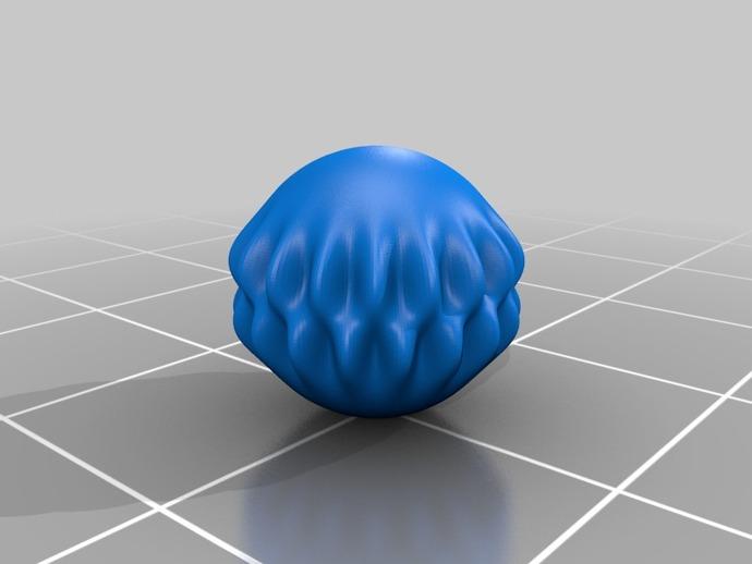 球谐函数形状 圣诞球