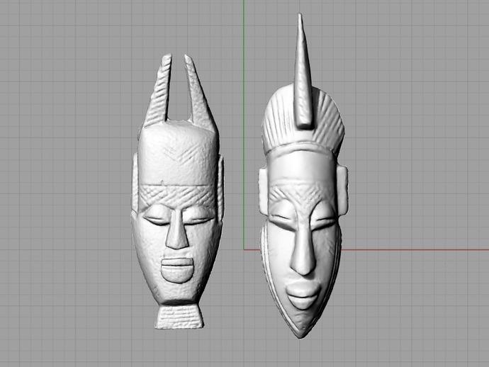 非洲面具 壁挂