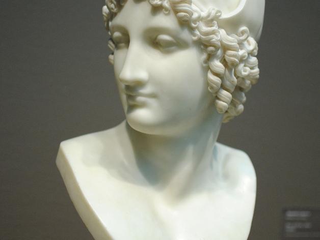 特洛伊王子 Paris半身像 模型