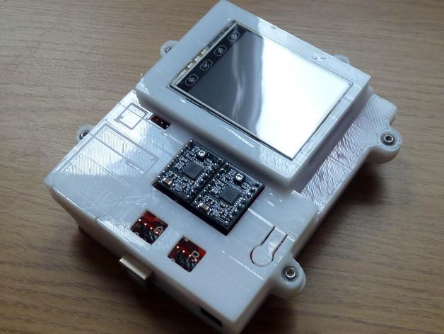 PolargraphSD设备外壳 3D打印模型渲染图