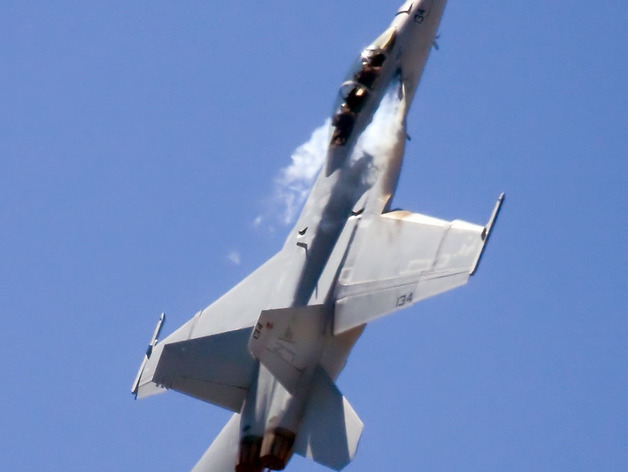 F18 飞机模型 3D打印模型渲染图