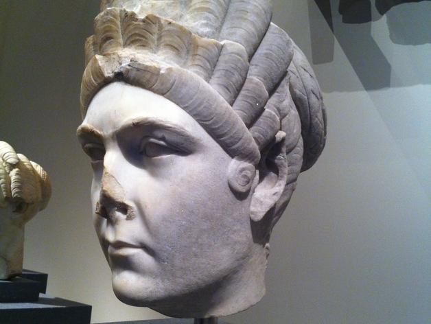 马尔恰纳大理石肖像 3D打印模型渲染图