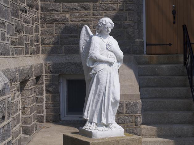 海洋天使 雕像模型 3D打印模型渲染图