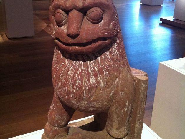 印度2世纪的狮子 模型