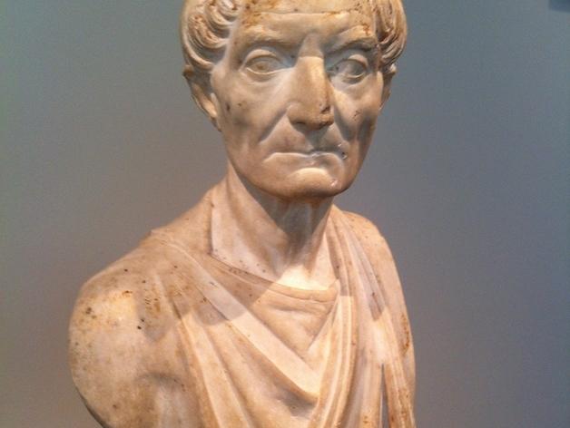 罗马时期祭司像 3D打印模型渲染图