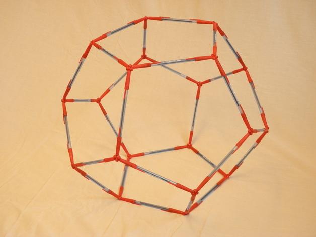 多面体镂空小球