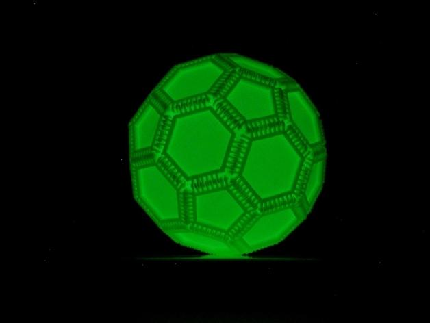 多边形镂空小球
