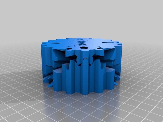 圆柱形齿轮