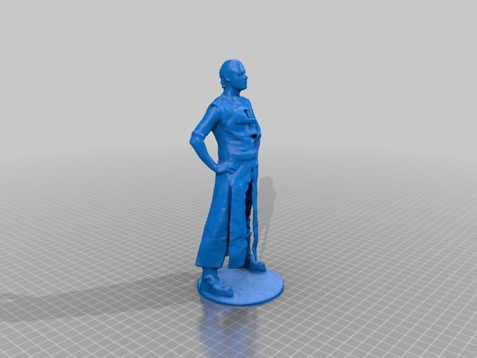帕特里克塑像