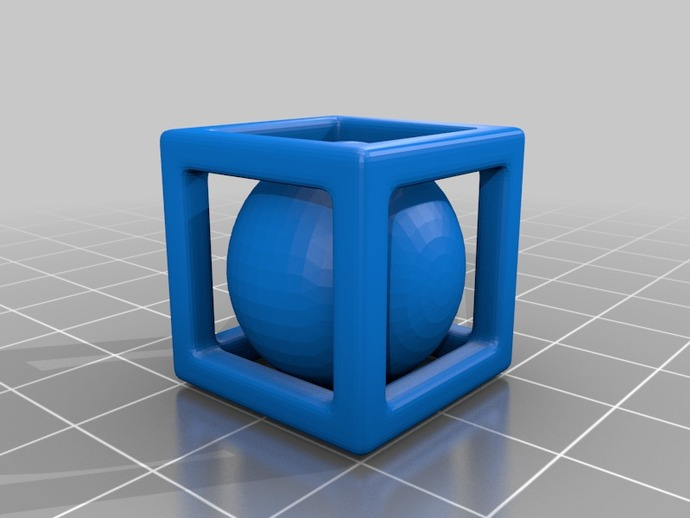 小球立方体