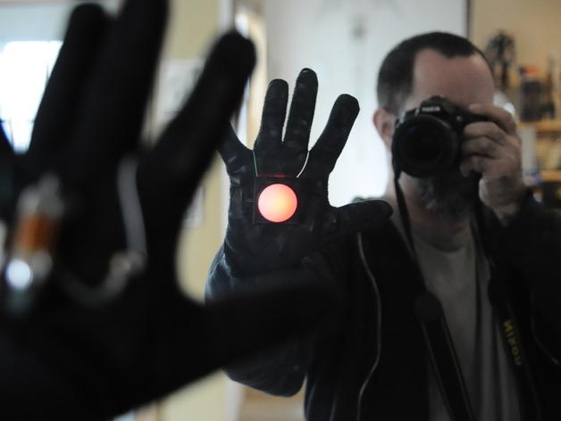 BlinkM掌中灯 3D打印模型渲染图