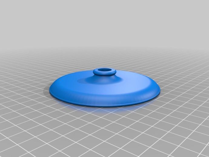组装式迷你灯罩 3D打印模型渲染图