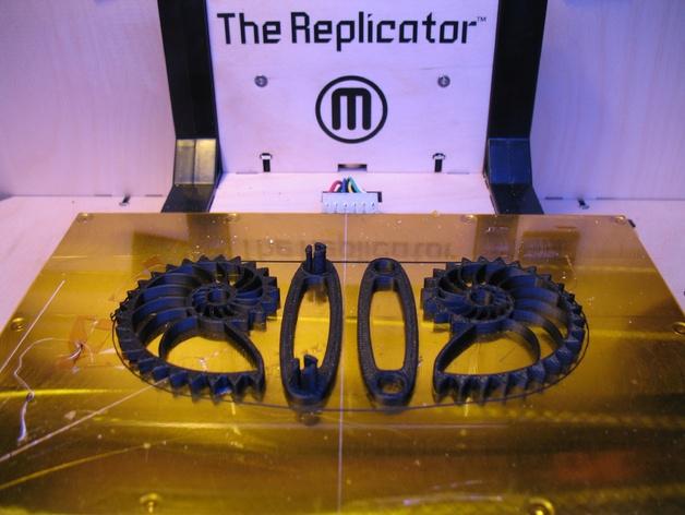 鹦鹉螺齿轮 底板 3D打印模型渲染图