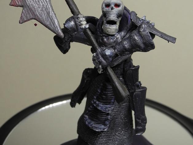 战争机器人Bane Thrall 3D打印模型渲染图
