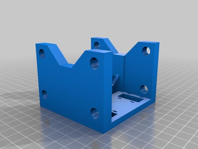 Printrbot 3D打印机双杆固定架