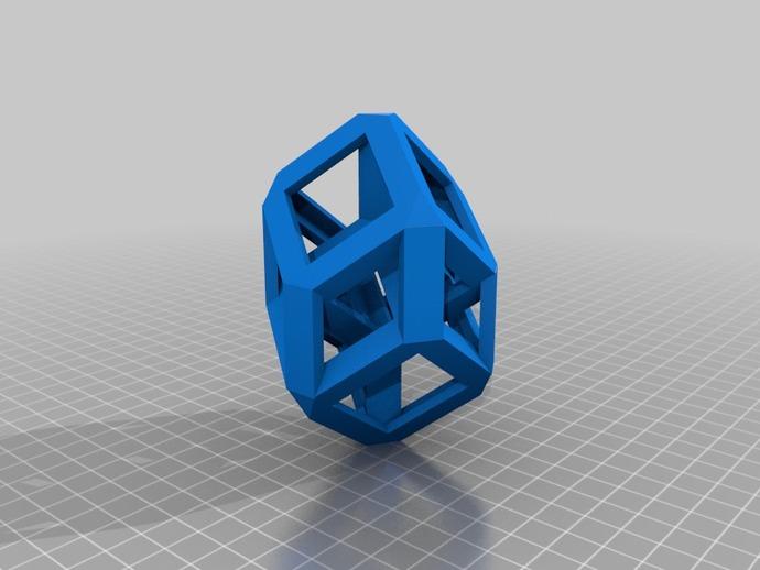 四维超正方体