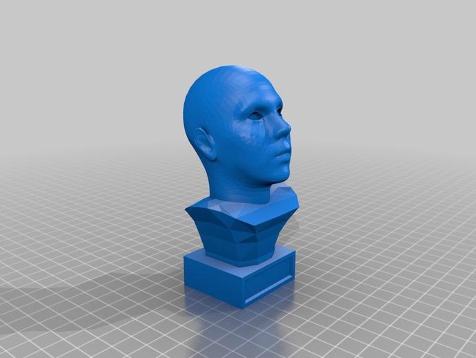 头像生成器 雕塑