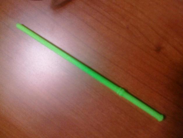 哈利波特的魔杖 3D打印模型渲染图