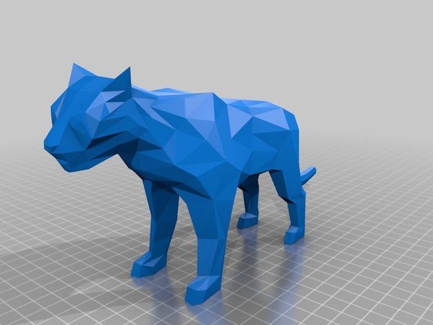老虎 模型