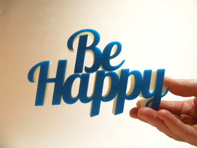 Be Happy文本模型