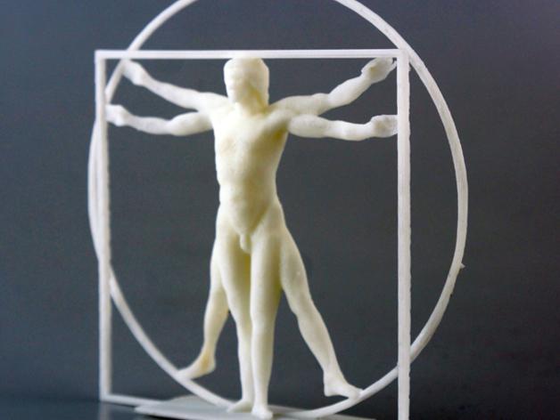 维特鲁威人 模型