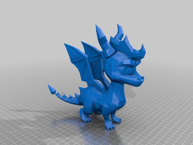 Spyro斯派洛 模型