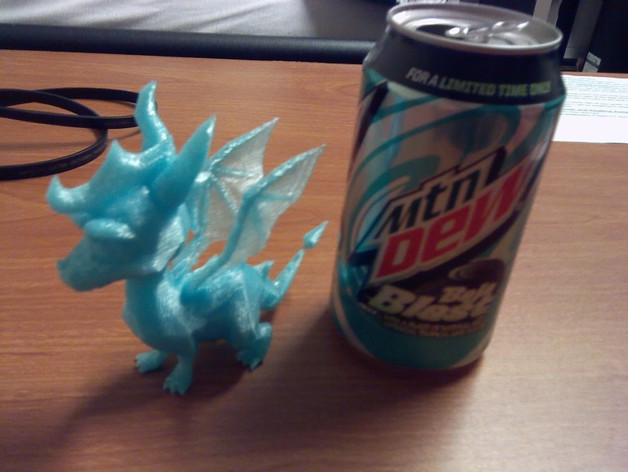Spyro斯派洛 模型 3D打印模型渲染图