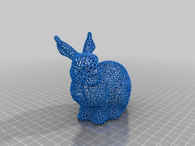 泰森多边形 兔子