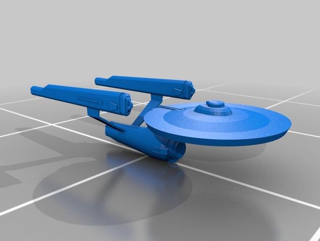 星际飞船 模型 3D打印模型渲染图