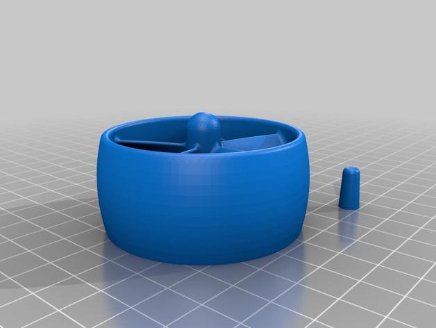 Dremel 电磨打磨头 3D打印模型渲染图