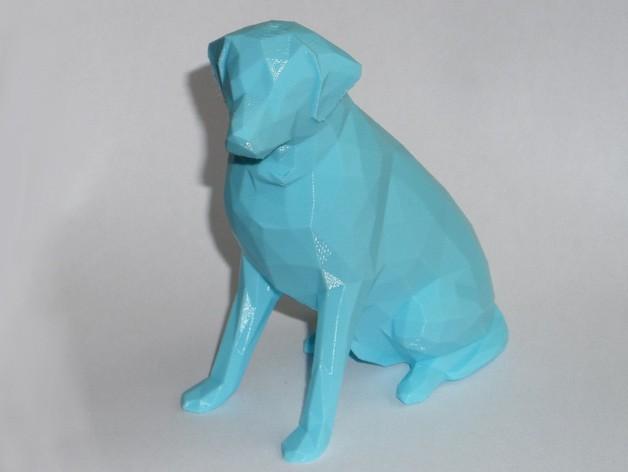 低面数 拉布拉多犬 模型