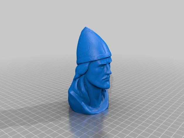Leif Erickson头像雕像