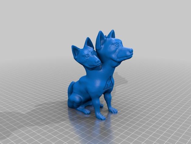 地狱犬 雕塑