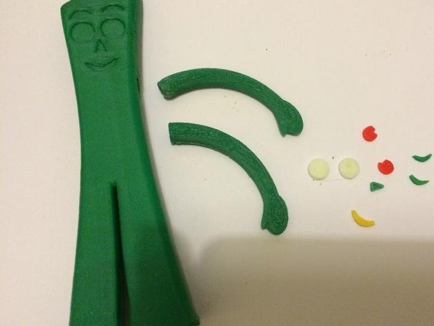 小绿人Gumby
