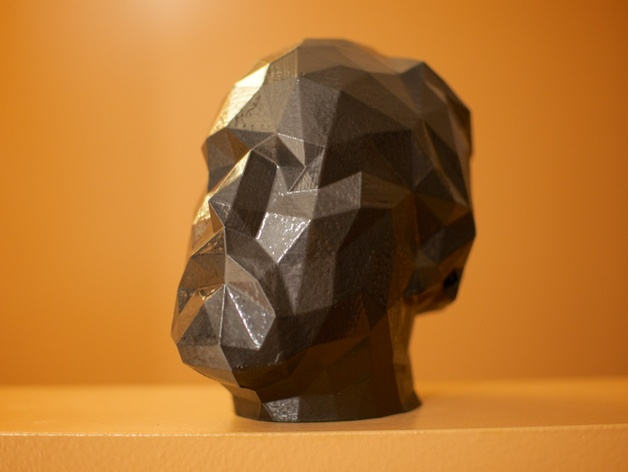 道格拉斯·柯普兰 3D打印模型渲染图