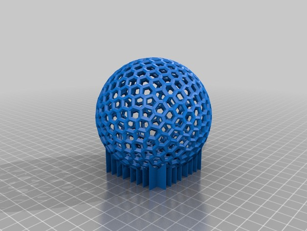 泰森多边形球体 心形体  立方体