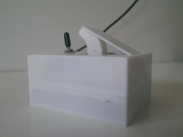 硬件盒子 3D打印模型渲染图