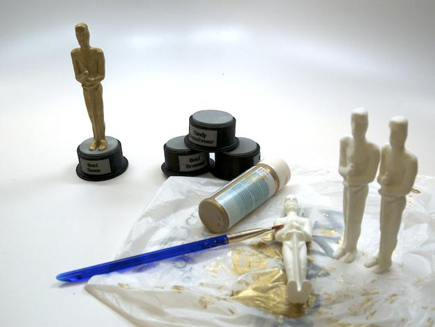 电影奖杯 模型