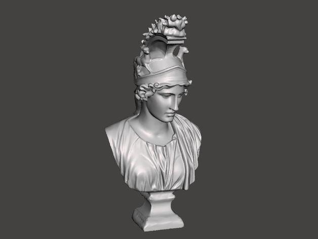 希腊女神半身雕塑