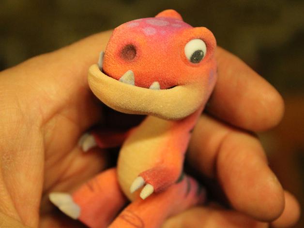 可爱的小恐龙
