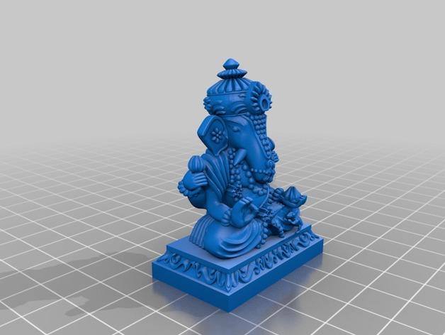 蛙神雕塑模型